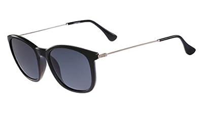 Calvin Klein Platinum CK3173S Sunglasses 001 Shiny Black