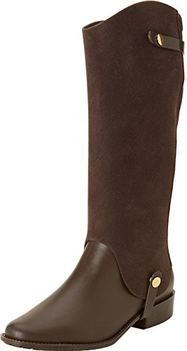 Womens Flocked Brown Melissa Womens 6M Special Riding Special Melissa Flocked Brown Riding US 6M US 7wC8qw