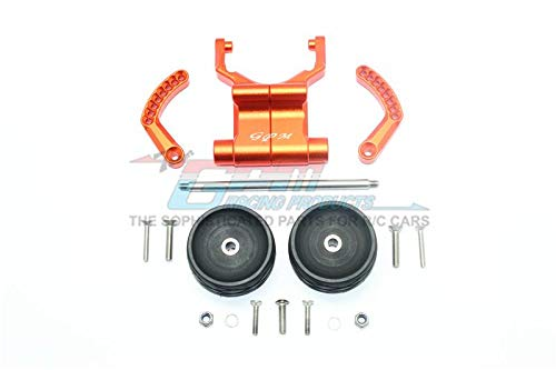 G.P.M. Traxxas E-Revo VXL 2.0 2.0 2.0 / E-Revo Brushless Tuning Teile Aluminium Rear Adjustable Wheelie - 1 Set Orange 345767