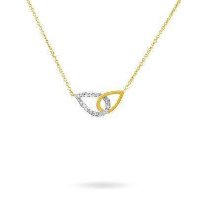 HISTOIRE D'OR - Collier Or et Diamant - Femme - Or jaune 375/1000 - Taille Unique
