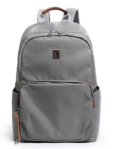Bag School Fashion Travel Backpack Waterproof Gray Nylon Daypack Fouvor 282802 7CPwqW