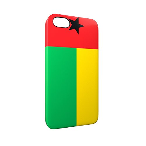 Flag of Guinea-Bissau Glossy Hard Snap-On Protective iPhone 5 / 5S / SE Case Cover