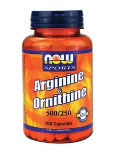 Now Foods, L Arginine & Ornithine 500/250 mg