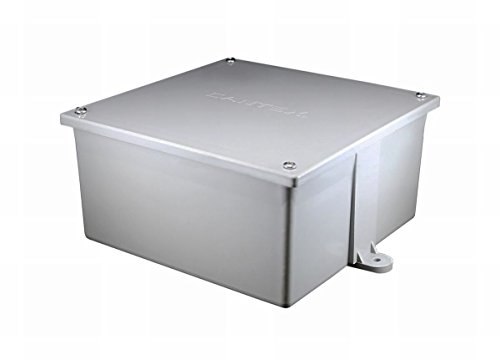 Cantex Industries #5133710U 6x6x4 PVC Junction Box by Cantex (Image #1)