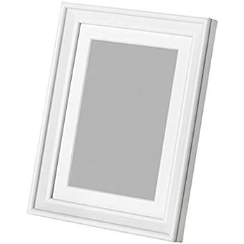Ikea knoppang frame 4x6 white wood photo for Ikea ribba plank