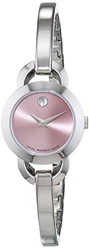 Movado Women's Rondiro Watch Quartz Mineral Crystal 606797