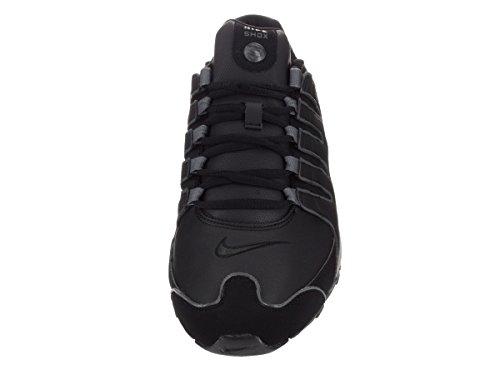 Nike Mens Shox Nz Sl Scarpe Da Corsa Nero / Grigio Flint