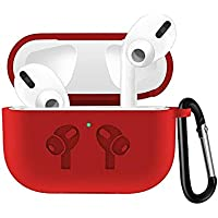 Shockproof Silicone Case Cover For Airpods Pro - Red