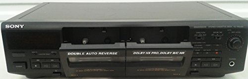 Purchase Sony TC-WE405 Recordable Stereo Double Cassette Tape Deck With Auto Reverse and Dolby HX Pr...