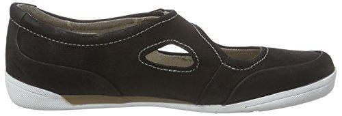 Marc Shoes Katja - Mocasines Mujer Negro - Schwarz (black 100)