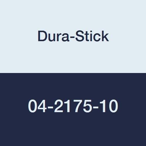 Dura-Stick 04-2175-10 Rectangle Premium Electrode, Blue Gel, 2'' Length x 3.5'' W, Blue Gel