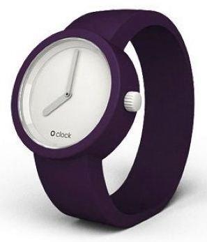 O Clock - ClockPO Watch in Purple: Size Medium