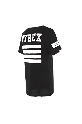 T-shirt Uomo Pyrex 2XL Nero 18epy33812 Primavera Estate 2018