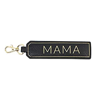 """Itzy Ritzy Tidy Tag Packing Label; Clips to a Packing Cube, Organization Pouch or Snack Bag to Identify Contents; Sold Individually;""""Mama"""" Label"""