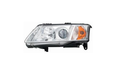- Depo 372-1102L-AS 03-07 SAAB 9-3 (4DR) / 04-07 SAAB 9-3 (2DR) HEADLIGHT (W/ HALOGEN TYPE ONLY) - DRIVER SIDE ASSEMBLY