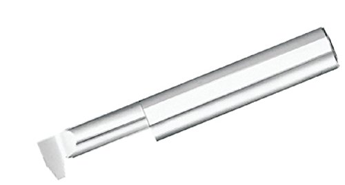 Micro 100 IAT-1500-8 Internal ACME 29° Angle Threading Tool, 0.400'' Minimum Bore Diameter, 0.120'' Projection, 1.500'' Maximum Bore Diameter, 0.041'' Flat, 8 Threads per Inch, 0.5000 Shank Diameter, 3'' Overall Length, Solid Carbide Tool