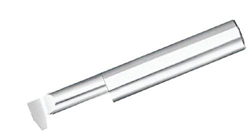 0.045 Projection 0.028 Flat 0.200 Minimum Bore Diameter 12 Threads per Inch Solid Carbid 2.5 Overall Length Aluminum//Tin Coated 0.2500 Shank Diameter 0.400 Maximum Bore Diameter Micro 100 IAT-400-16X Internal ACME 29/° Angle Threading Tool