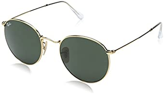 Ray-Ban Unisex Sunglasses Round Metal: Rayban: Amazon.co