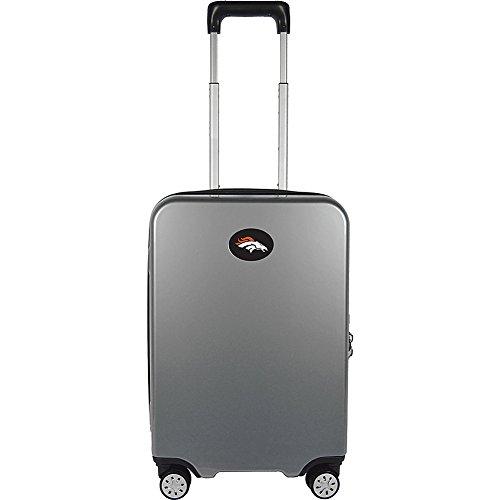 NFL Denver Broncos Premium Hardcase Carry-on Luggage Spinner by Denco