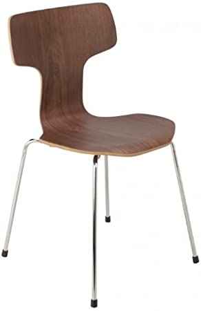 Arne Jacobsen Style 3103 sedia in legno di noce: Amazon.it