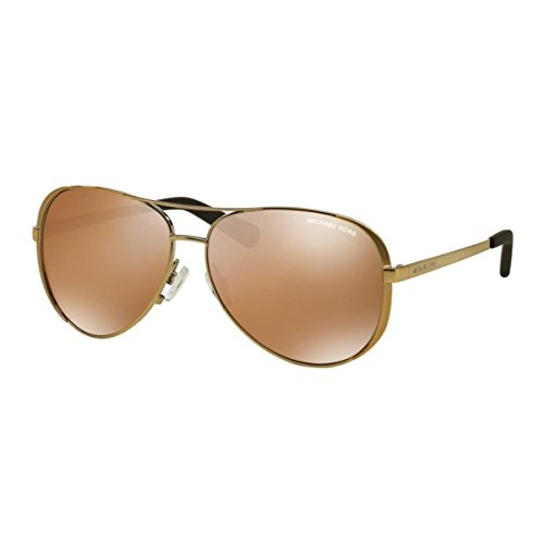 Michael Kors MK5004 Chelsea Sunglasses, Gold by Michael Kors
