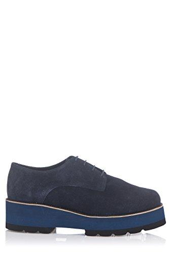 Laura Moretti Zapatos de Cordones Azul Marino EU 39 cS6Fe8cm