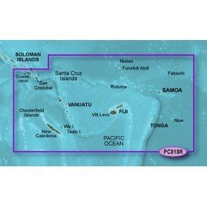 Garmin Bluechart G2 - HXPC018R - New Caledonia To Fiji - MicroSD & SD