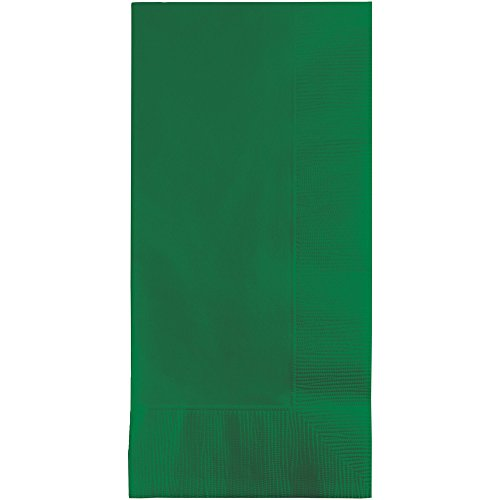 - Creative Converting Touch of Color 100 Count 2-Ply Paper Dinner Napkins, Emerald Green