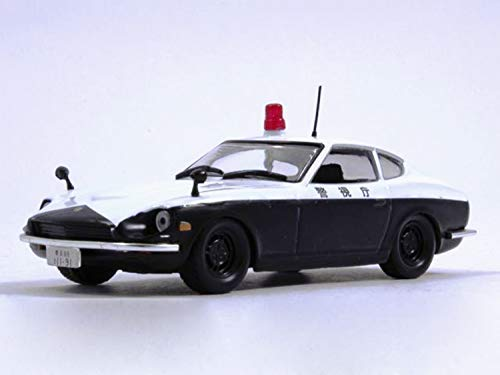Nissan Fairlady Z Japanese Police 1972 Year 1/43 Scale Diecast Model Sports Car