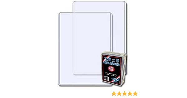 NEW 15 PK BCW 3.5 X 5 Top Load Holders Photo Print Index Card Toploaders