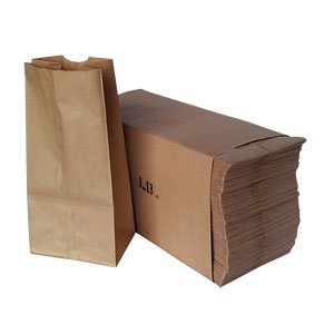 Bag Paper Tall - Duro Paper Bags, Sack Lunch Bags, 4 lb, Brown, 500 Count
