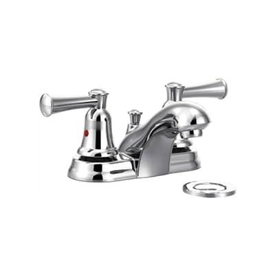 Cleveland Faucets CA41211 Capstone Centerset Bathroom Faucet with 50/50 Pop-Up Drain, Chrome