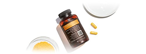 31oqbTFZzOL - Amazon Elements Turmeric Complex with Black Pepper and Ginger, Curcumin Supplement, 65 Capsules