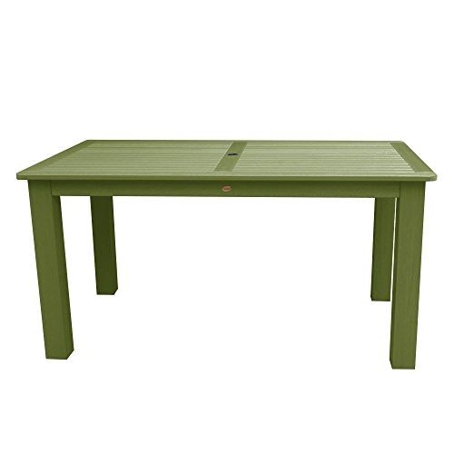 Highwood AD-CTB37-SGE Lehigh and Weatherly Rectangular Table, 37 by 72-Inch, Counter Height, Dried Sage For Sale