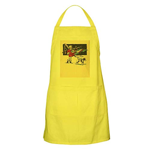 CafePress Fox Terrier Holiday Apron Kitchen Apron with Pockets, Grilling Apron, Baking Apron