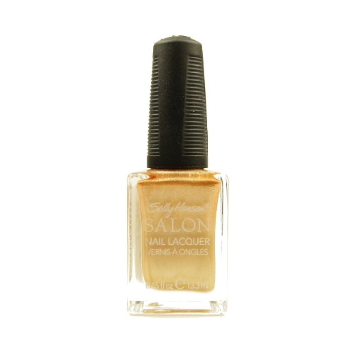 眼ブリリアント千(3 Pack) SALLY HANSEN Salon Nail Lacquer 4134 - Gilty Pleasure (並行輸入品)
