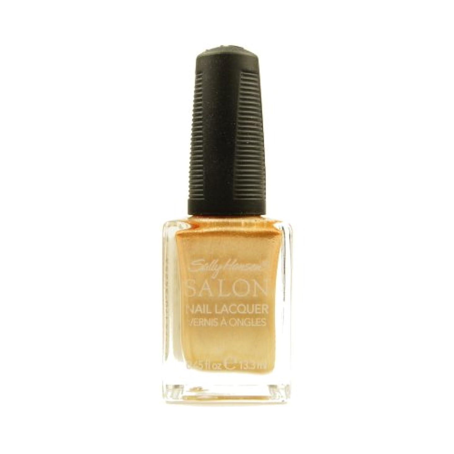 承認聖職者請求可能SALLY HANSEN Salon Nail Lacquer 4134 - Gilty Pleasure (並行輸入品)