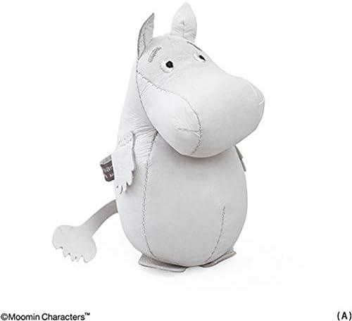 [해외]MOOMIN ム?ミン 레더 페이퍼 웨이트 (A) ム?ミン 트롤 [MM07 / MOOMIN Moomin Leather Paper Weight (A)Moomin Roll [MM07