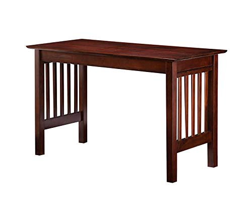 - Office Home Furniture Premium Furniture Mission Work Table, Antique Walnut