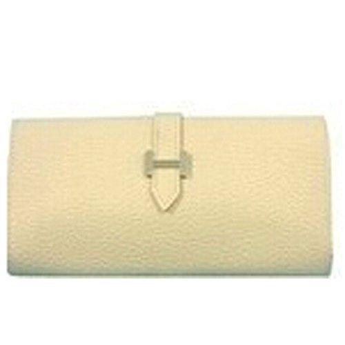 Donalworld Girls Cheap Card Holder PU Leather Long Wallets Beige
