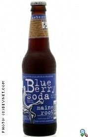 Maine Root - Blueberry Soda (100% Fair Trade & Organic), Buy TWENTYFOUR Bottles and SAVE, Each Bottle is 12 Ounces (Pack of 24) (Blueberry Soda Maine)