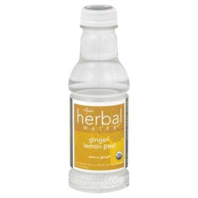 Ayalas Herbal Water Water - Ginger Lemon Peel, 16-Ounce (Pack of 12)