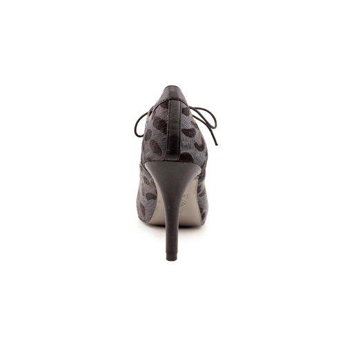 Charcoal Lux Hair Isola Calf Leopard Coralia Black Women's Horse xEwAqE