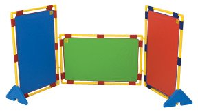 (Childrens Factory Kids Rectangular Rainbow PlayPanel Set - Set of 3)
