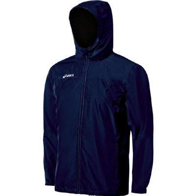 (ASICS Men's Summit Jacket (Navy), X-Small)