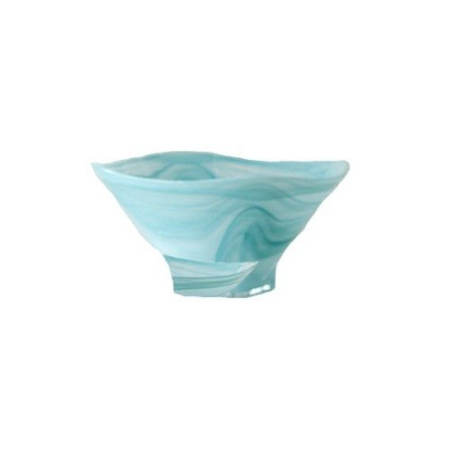 - Shiraleah Large Turquoise Polished Alabaster Squared Bowl