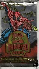 6 packs - 1994 Fleer Marvel Universe from JUMBO box - 12 cards per pack