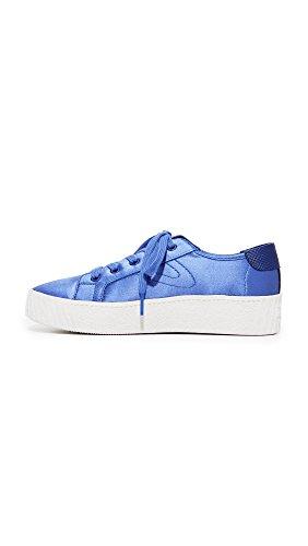 Tretorn Wires Blaire7 Sneaker Blauw Satijn