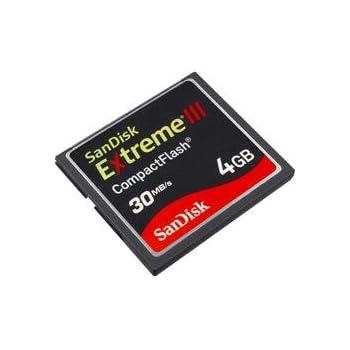 Amazon SanDisk Extreme III 4 GB CompactFlash Memory