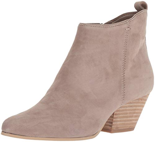 (Dolce Vita Women's Pearse Ankle Boot Dark Taupe Suede 7.5 M US)